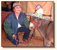 Skylar & Sandy at the Volunteer Horse Fair 2002 (14,392 bytes)