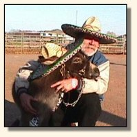 Skylar & Bob at the Volunteer Horse Fair 2002 (11,641 bytes)